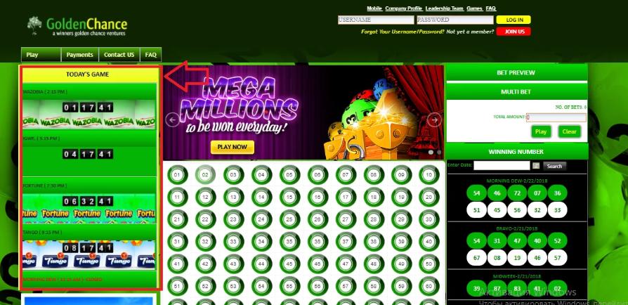 Lotto Online