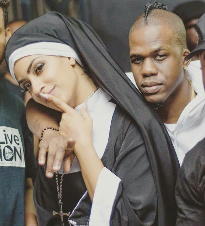 Juliet Ibrahim Nun Costume