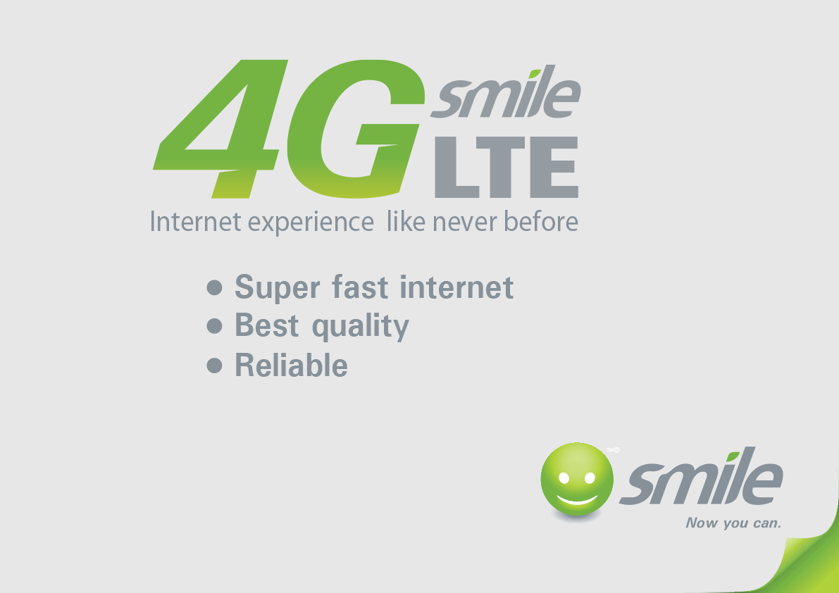 Smile 4G LTE Internet Data Plans, Bundles and Starter Pack Prices