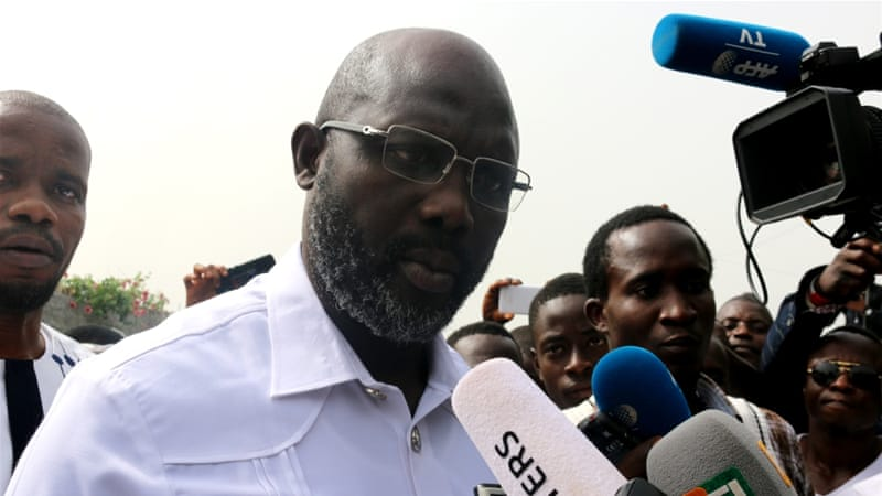 Nigerian Today - Liberia's president-elect George Weah