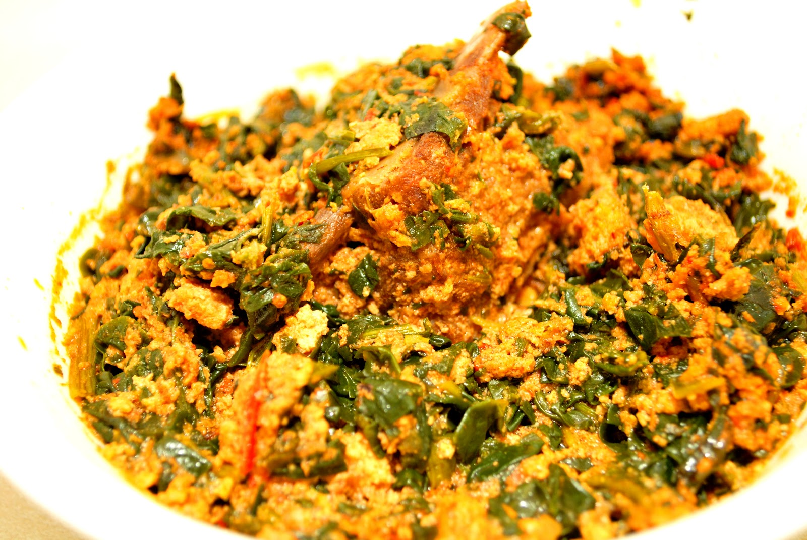 how to prepare Egusi Soup