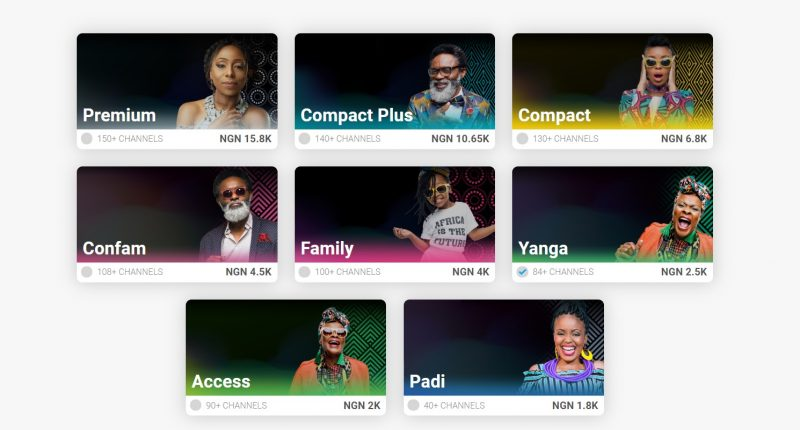 New DStv and GOtv Packages